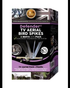 Defender® 3 meter fuglepigge til TV-antenne